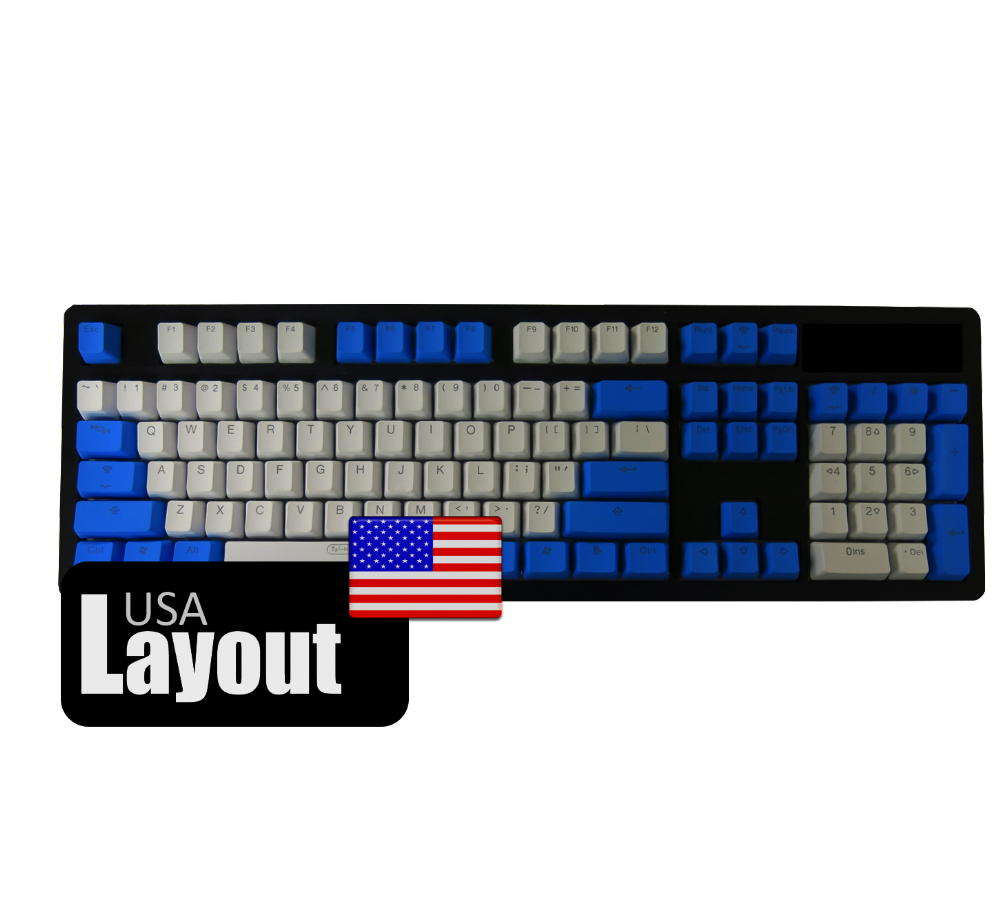 Tai-Hao PBT Backlit Double Shot Keycaps Raindrop USA